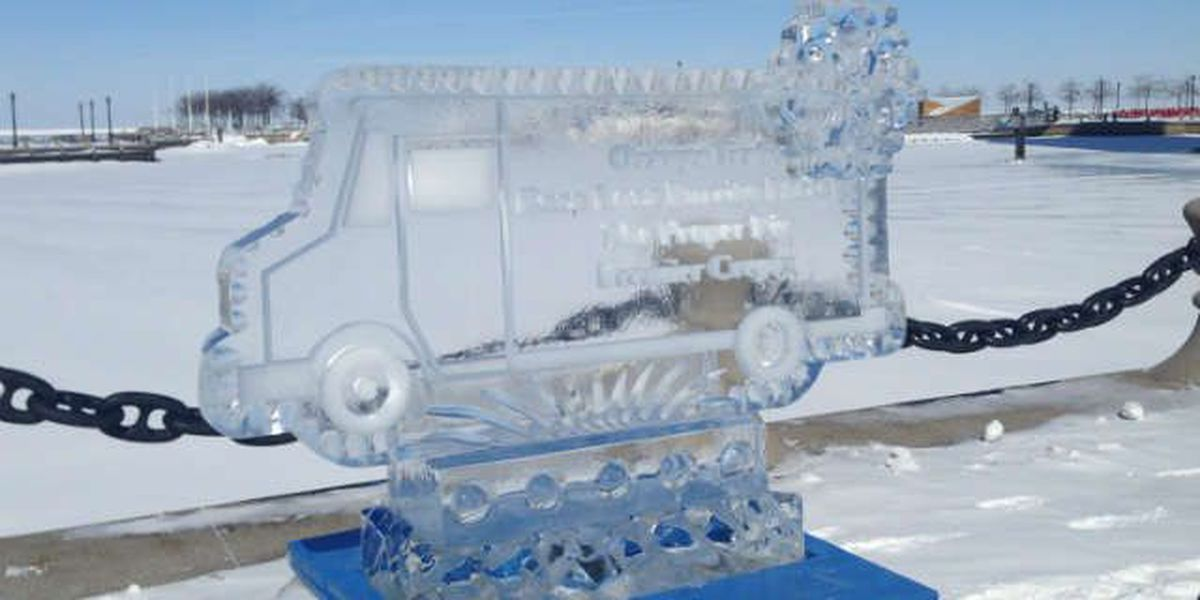Bundle up and check out the Ice Fest in downtown Cleveland