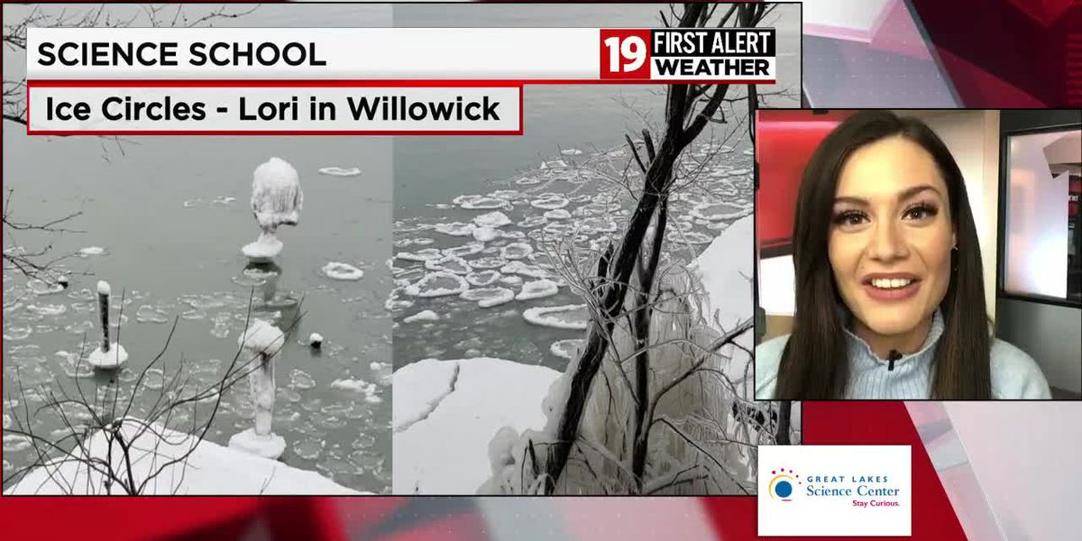 19 First Alert Science School: How do ice circles form