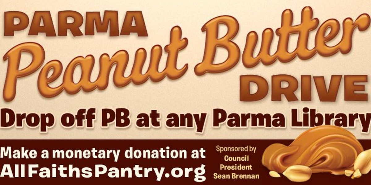 Parma's Peanut Butter Drive back for its ninth year