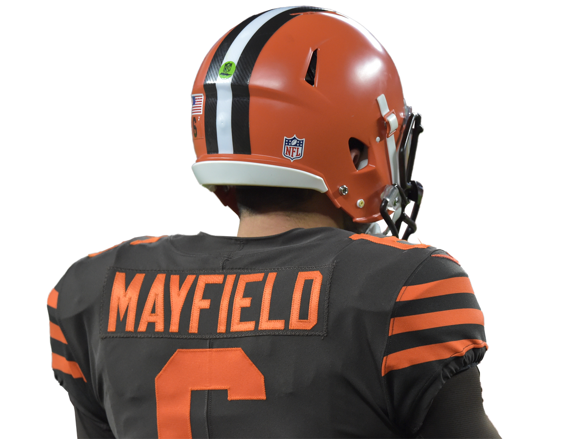 sale retailer 2afd1 74cad No. 6 hits #1: Baker Mayfield jersey sales top the charts