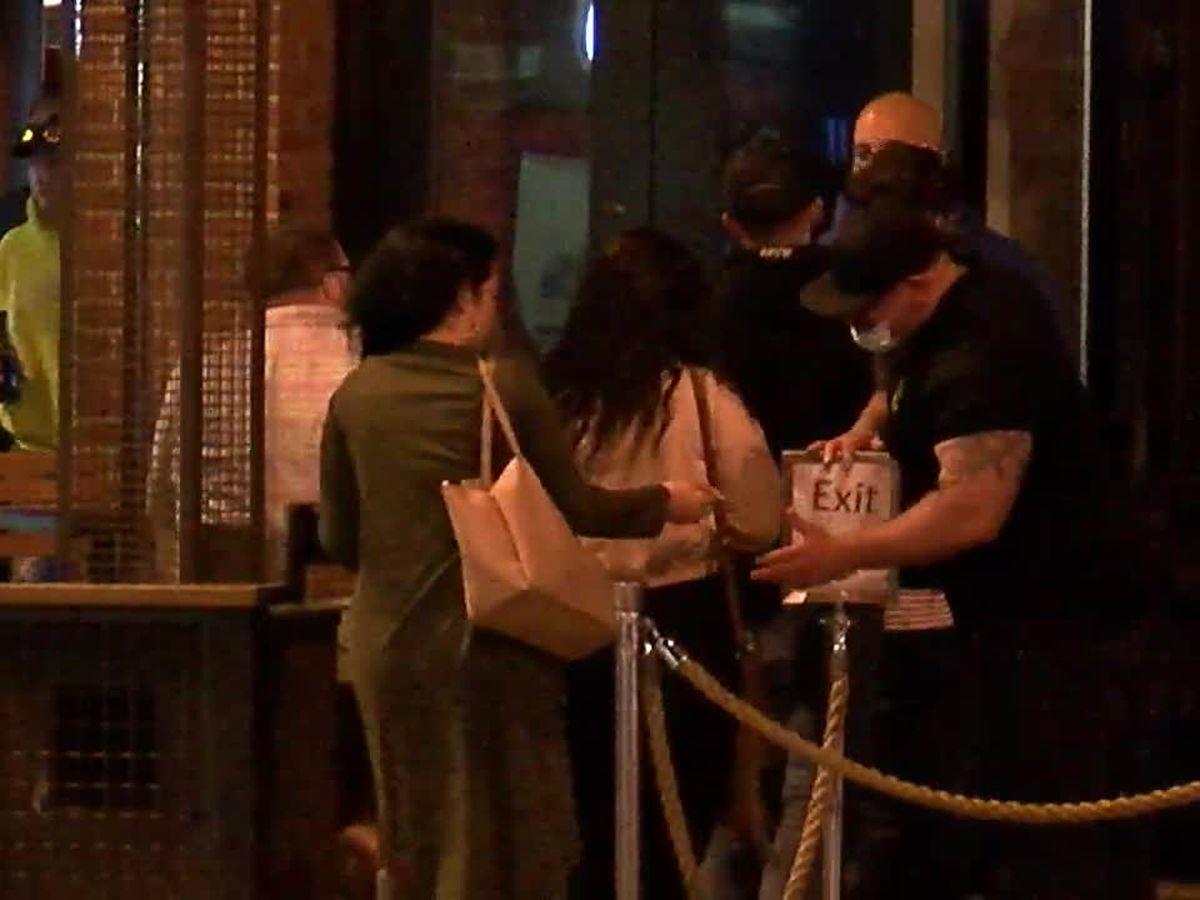 Customers hit the bars across Ohio as the clock strikes midnight