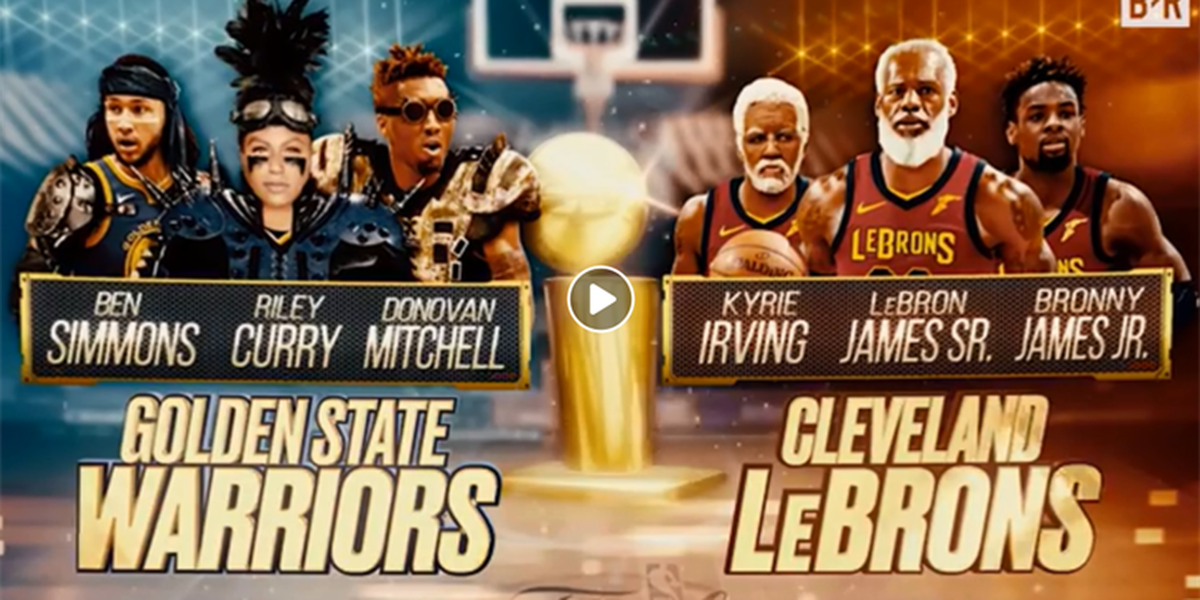 Cleveland Cavaliers vs. Golden State Warriors in the NBA Finals will continue for 30+ years (video)