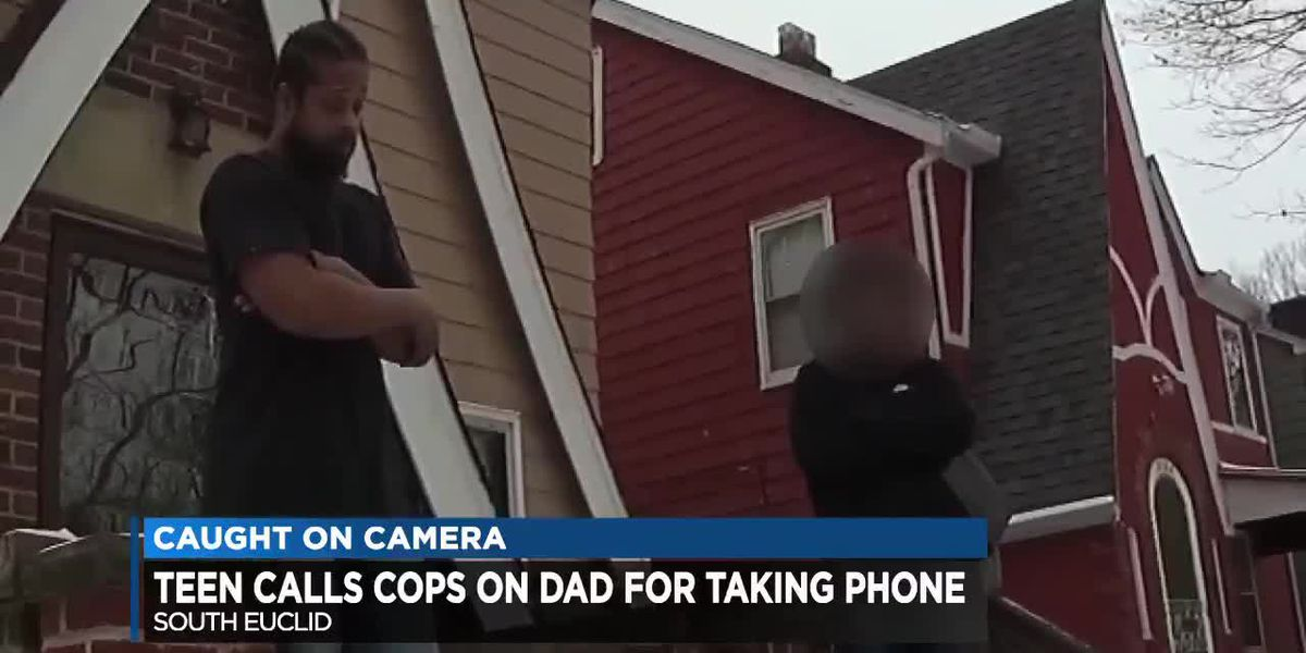 South Euclid teen calls police on father for taking away her phone