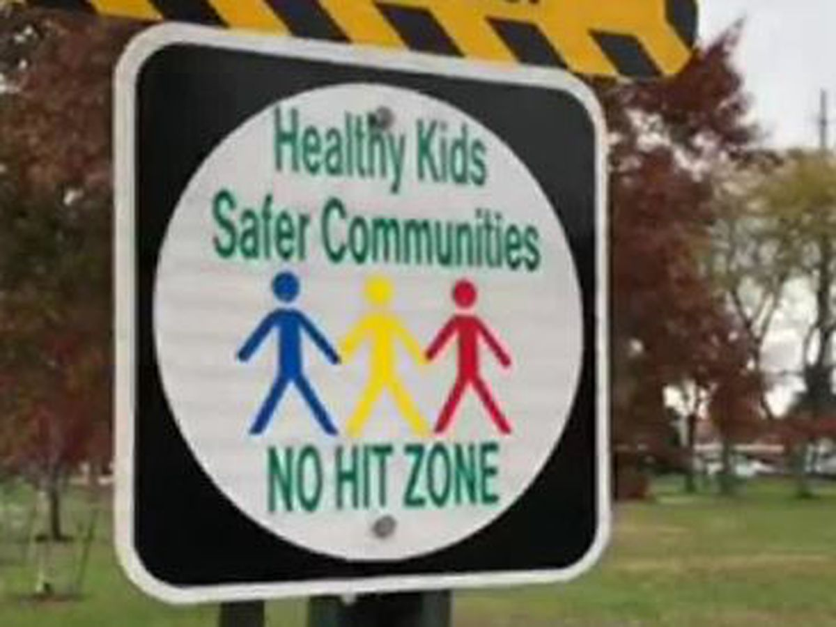 City leader posts 'no-hit zone' signs to prohibit parents from spanking children