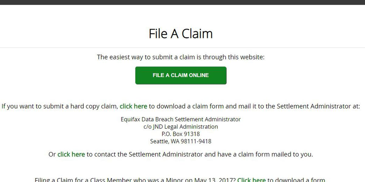 Does Equifax owe you money because of a massive data breach? Here's how to find out