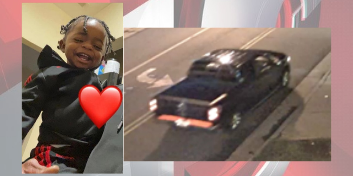 Photo shows truck that is 'possibly involved' in Akron shooting that left 1-year-old boy dead, 2 others injured