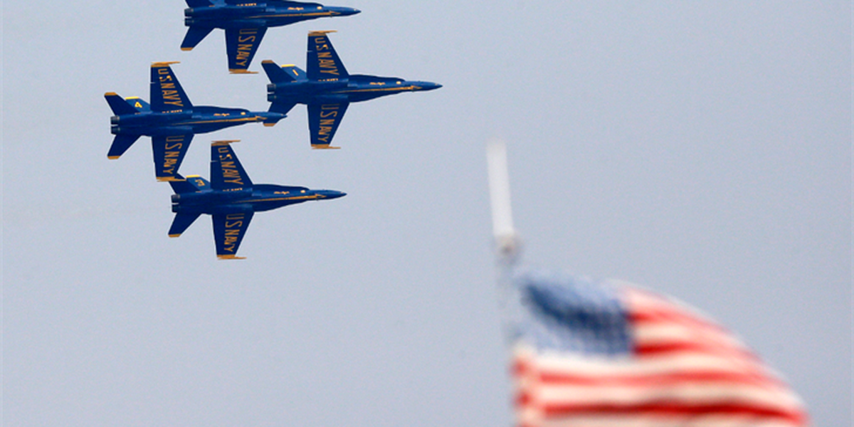 The Blue Angels coming to Cleveland for Navy Week