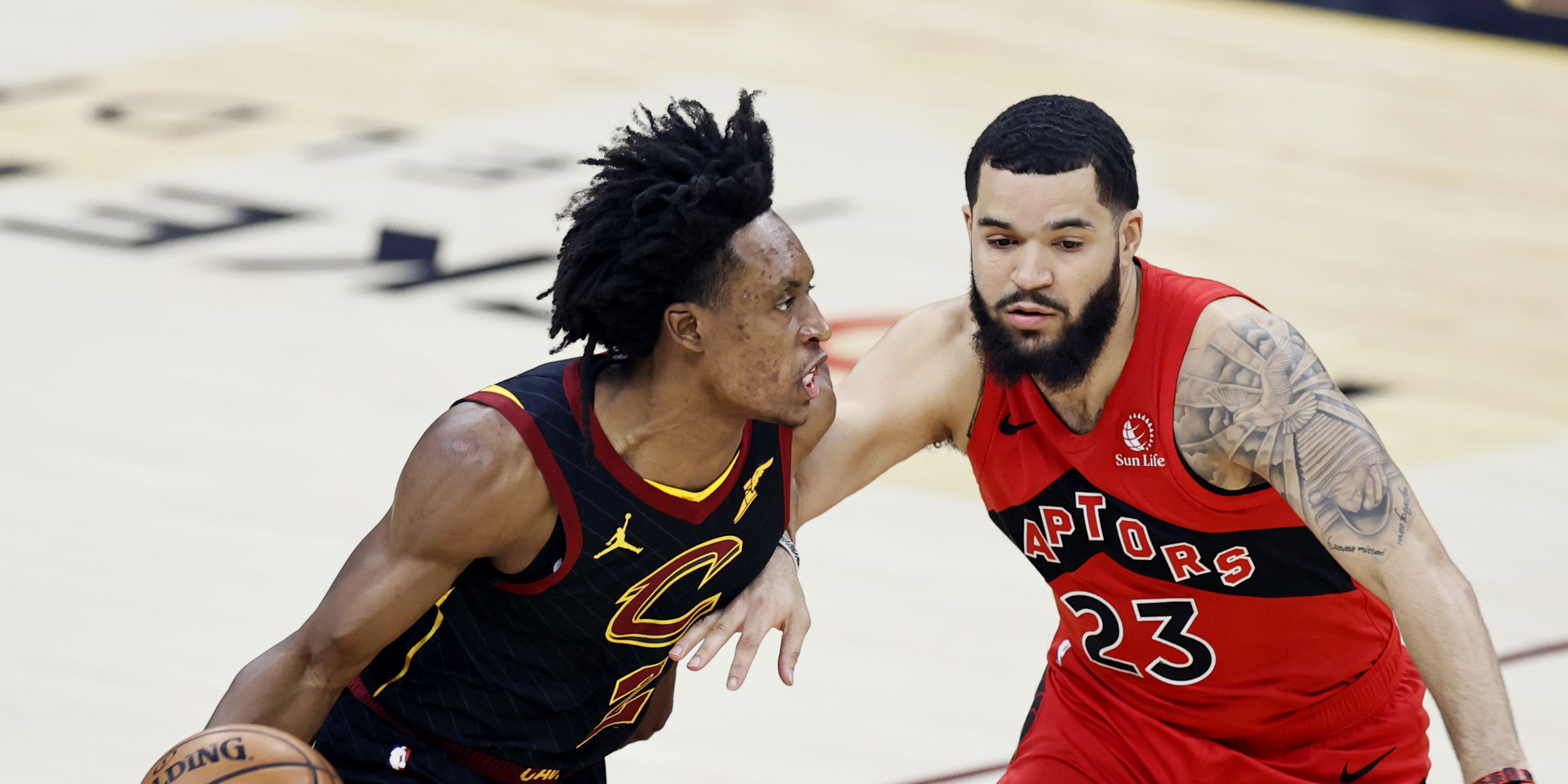 Sexton scores 36, Cavs hand Raptors eighth straight loss