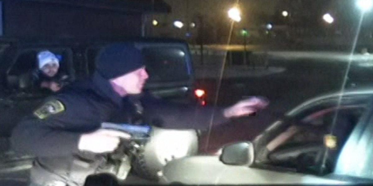 Parma officer and vigilante converge on suspect, leading to shooting and chase (dashcam)