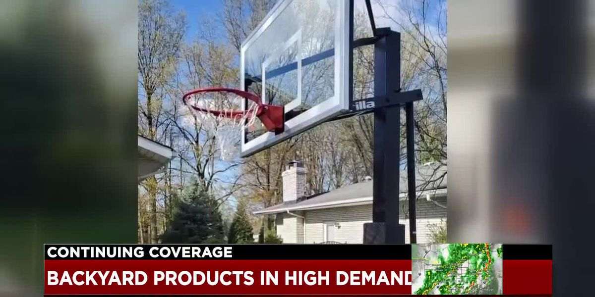 High demand and long waits for backyard equipment and furniture