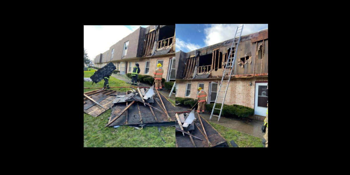 Brunswick Hills Fire Department helps put out Saturday morning condo blaze