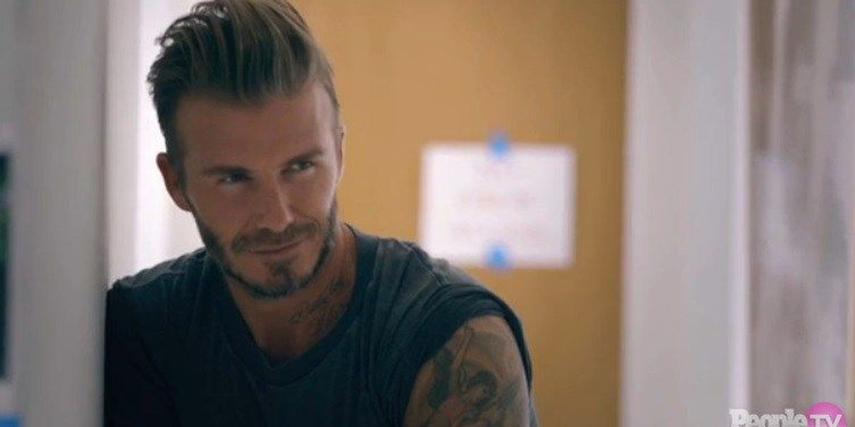 Soccer star David Beckham is People's Sexiest Man Alive