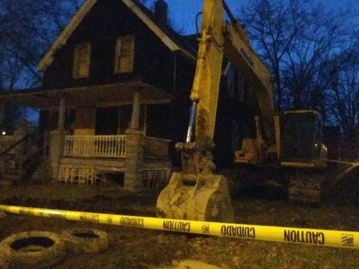 House Alianna DeFreeze was killed in scheduled to be torn down this morning
