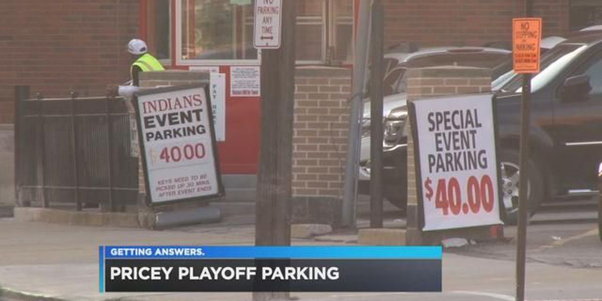 Indians fans feel parking pain downtown