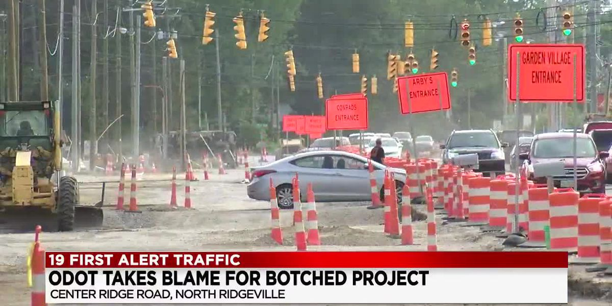 North Ridgeville residents not happy after ODOT explains a year delay in Center Ridge Road Project