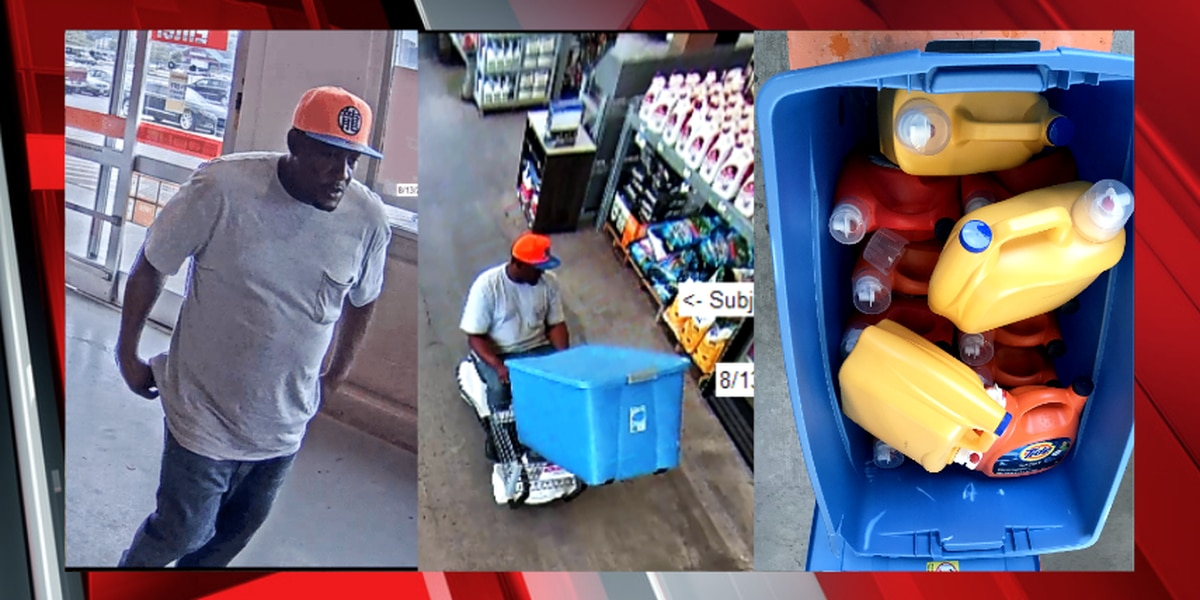 Cleveland Police searching for alleged detergent thief that tried to make a clean getaway