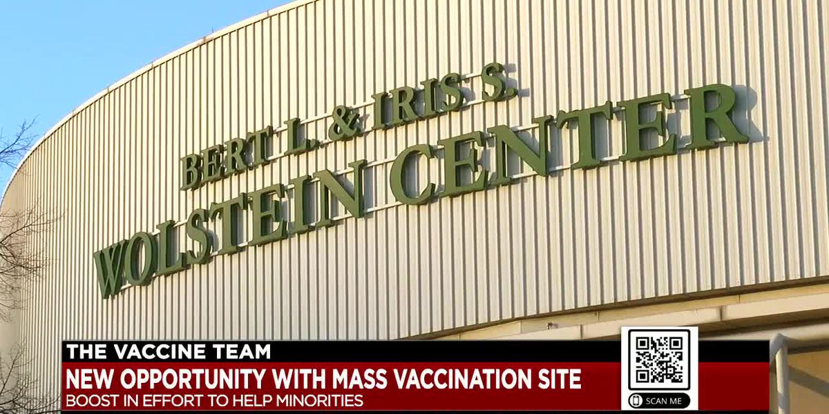 Governor announces long-term mass vaccination site in Cleveland