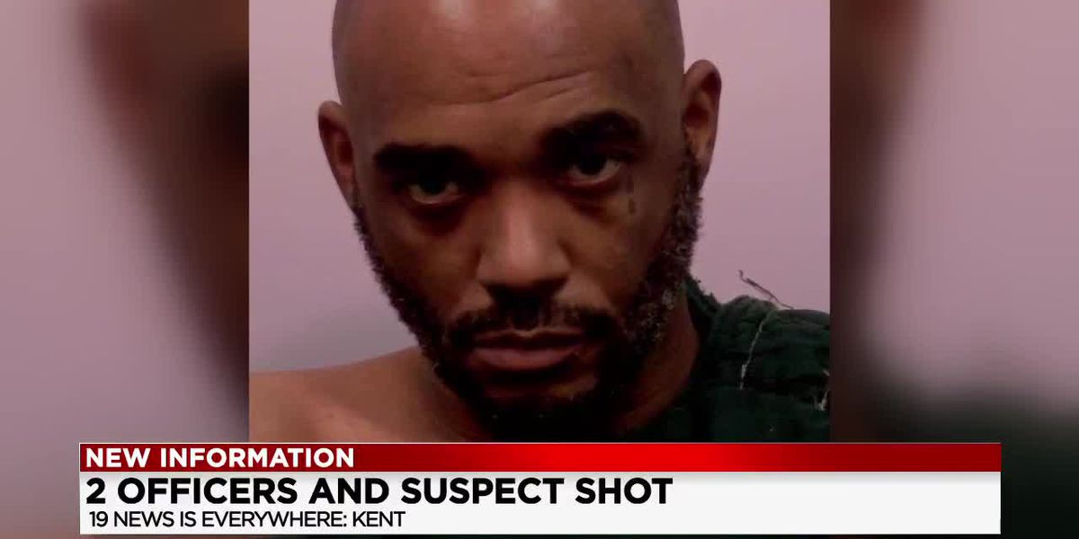 2 Kent officers, suspect shot during home invasion; 1 officer saved by his bullet-proof vest