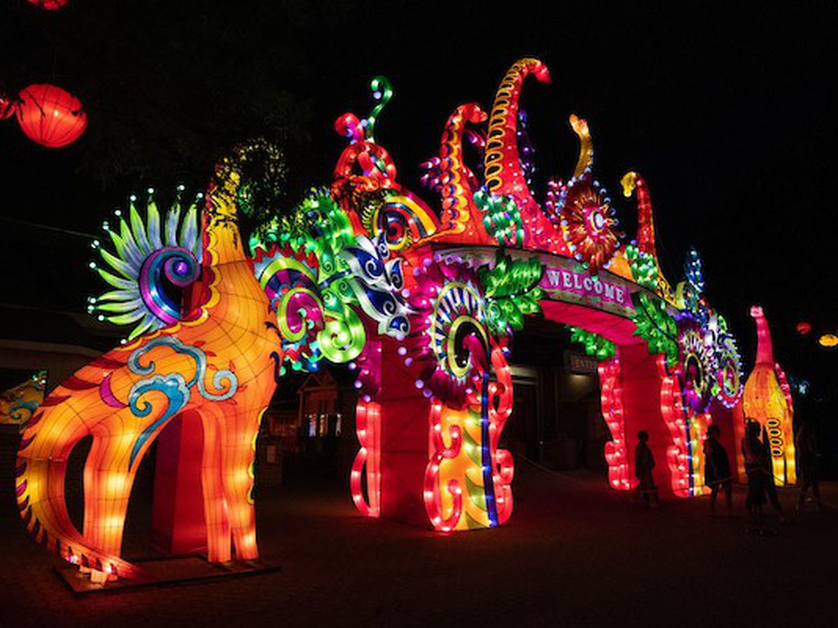 Cleveland Metroparks Zoo Asian Lantern Festival offering drive-thru days