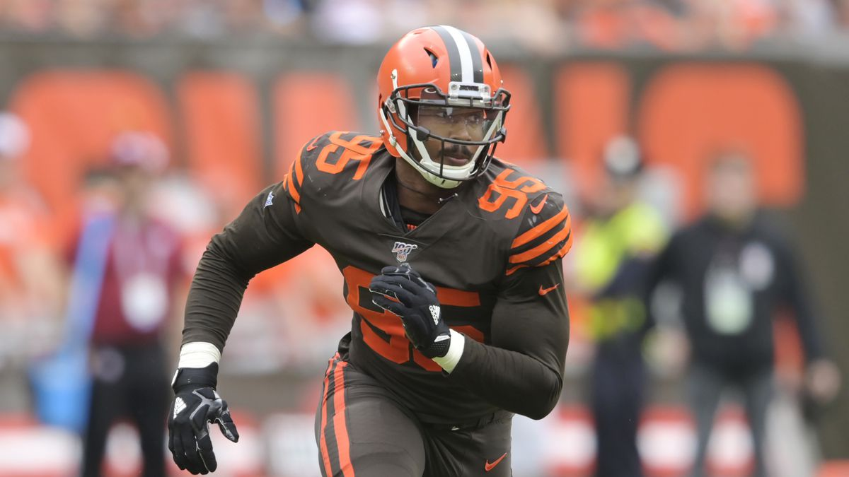 Myles Garrett on track to come off COVID-19 list this week for the Browns