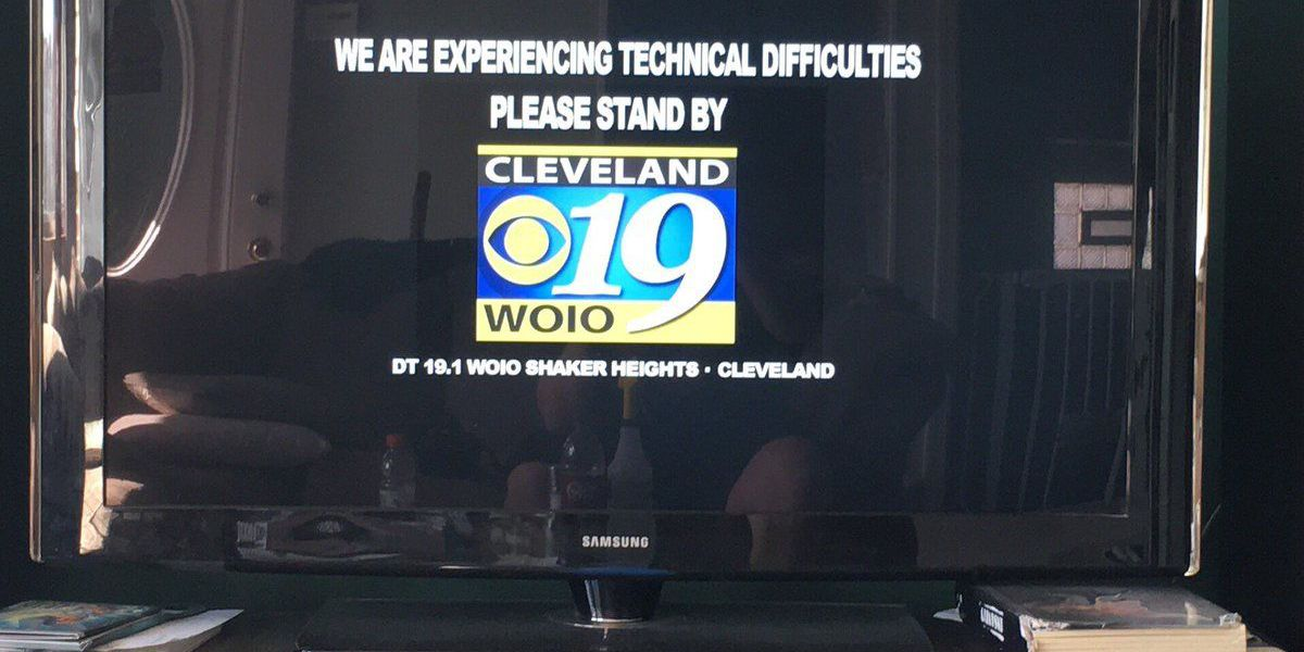 CBS had technical difficulties during Browns game, you had jokes