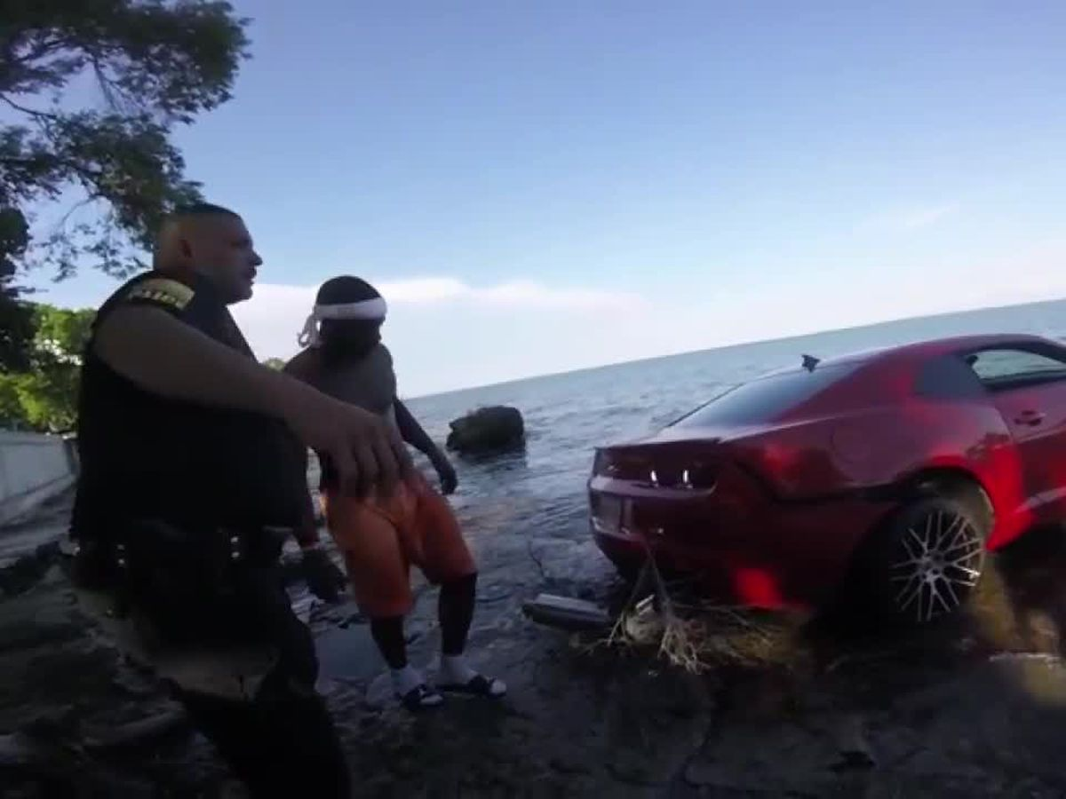 Arizona Cardinals cut WR who crashed Camaro into Lake Erie (bodycam)
