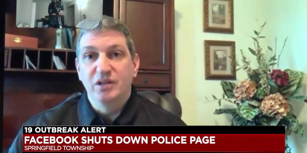 Springfield Township Police Department unable to access its Facebook page in critical time