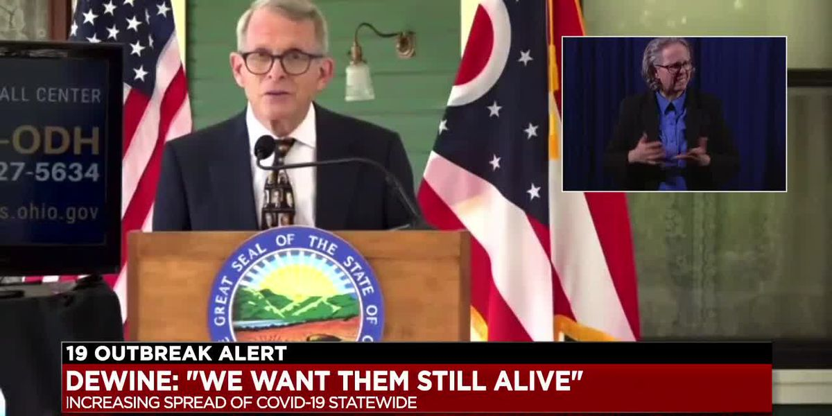 Gov. Mike DeWine: Rising COVID-19 numbers in Ohio are 'very concerning'