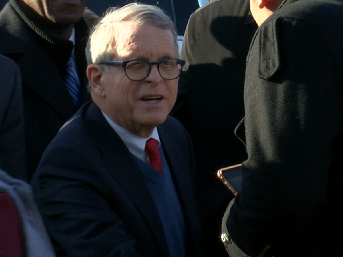 Ohio Gov. Mike DeWine visits East Cleveland after 19 News shed light on mother who died crossing Euclid Avenue