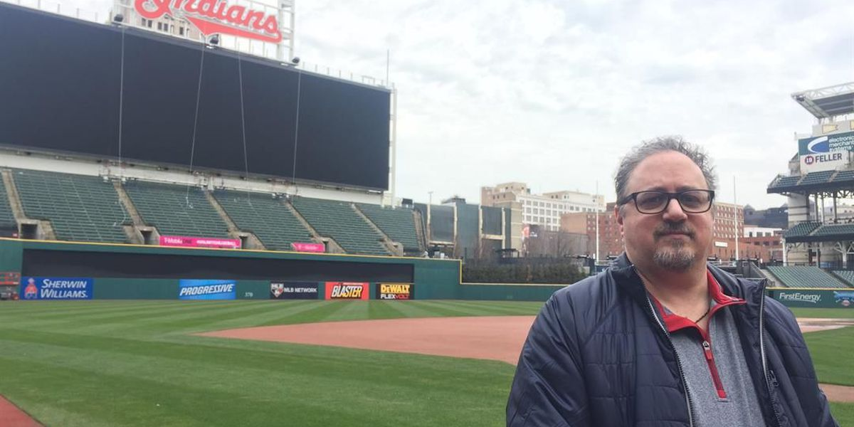 Meet a man who helps the Indians win games without wearing a Cleveland uniform