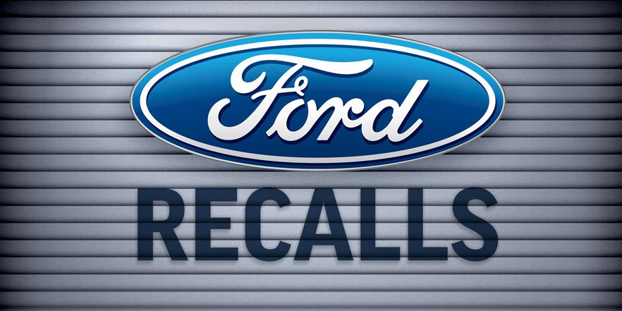 Ford recalls some vehicles due to sharp seat frame edge