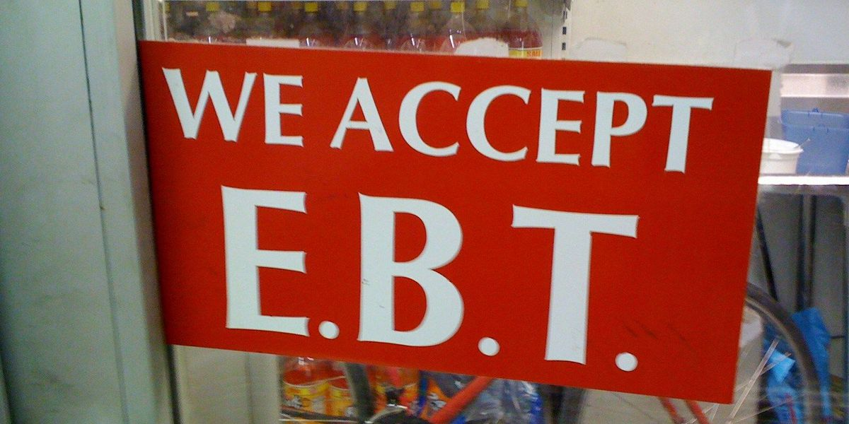 EBT card system back up following shutdown