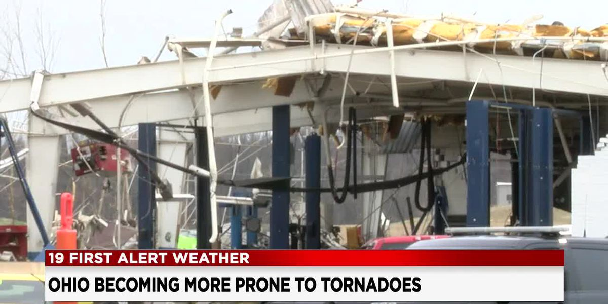 Tornado Alley moving east and taking aim at Ohio