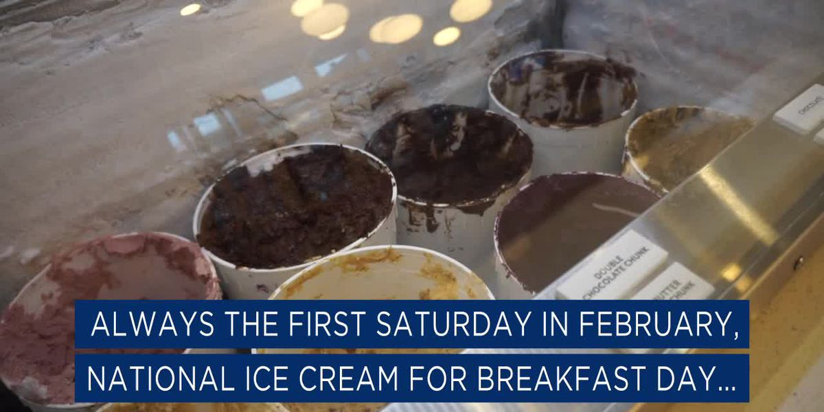 It's National Ice Cream for Breakfast Day (Snackable)