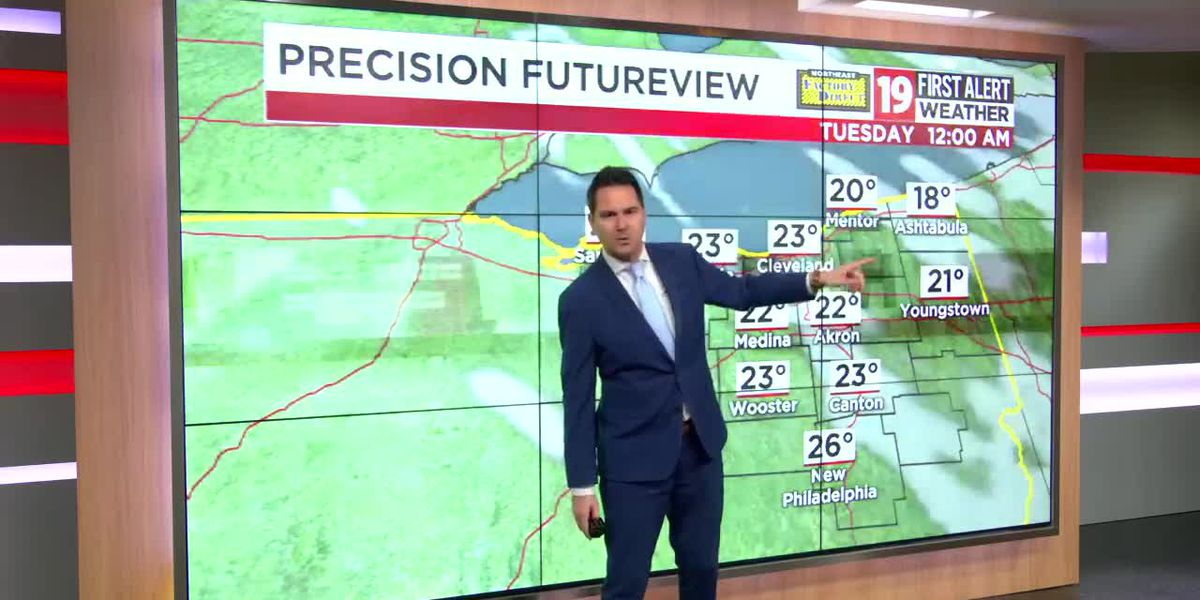 Northeast Ohio weather: Quiet pattern setting up for the week ahead