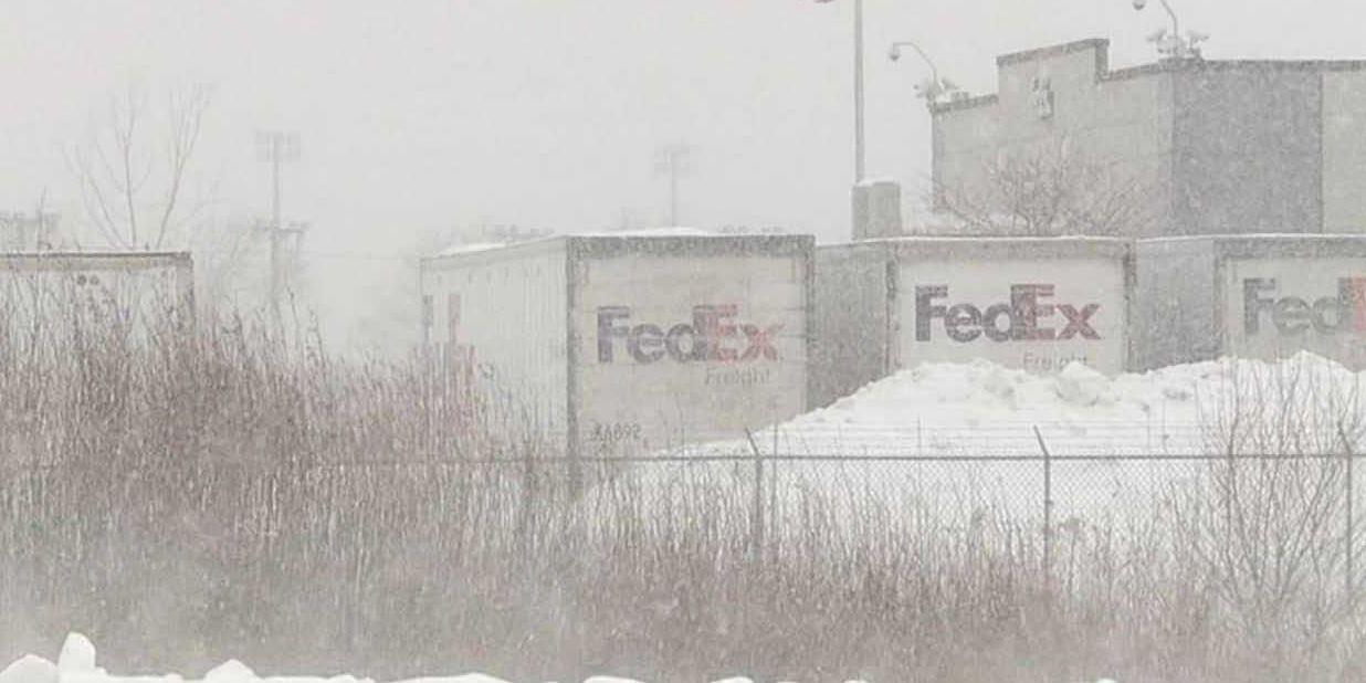 FedEx worker found frozen at Illinois delivery hub