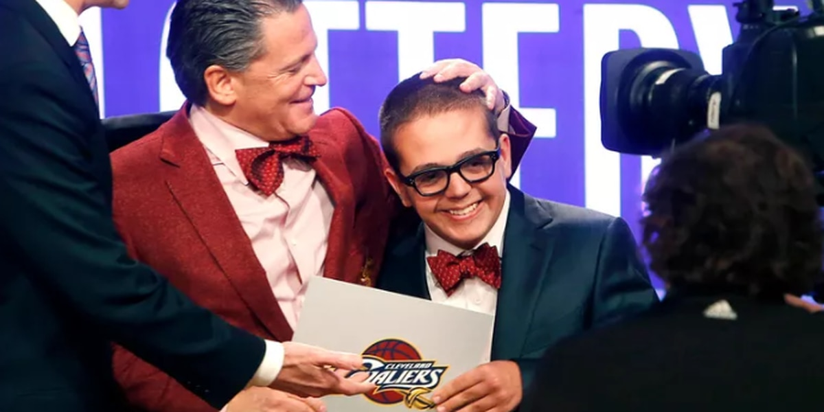 Nick Gilbert will represent the Cleveland Cavaliers at NBA lottery