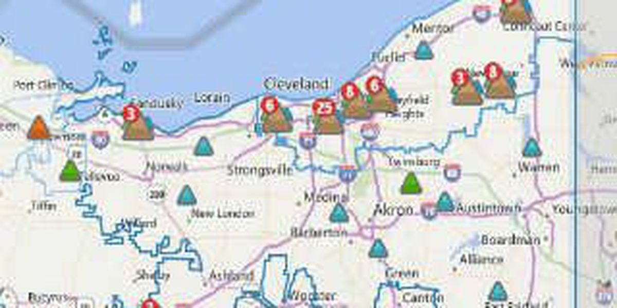 Thousands of First Energy customers lose power