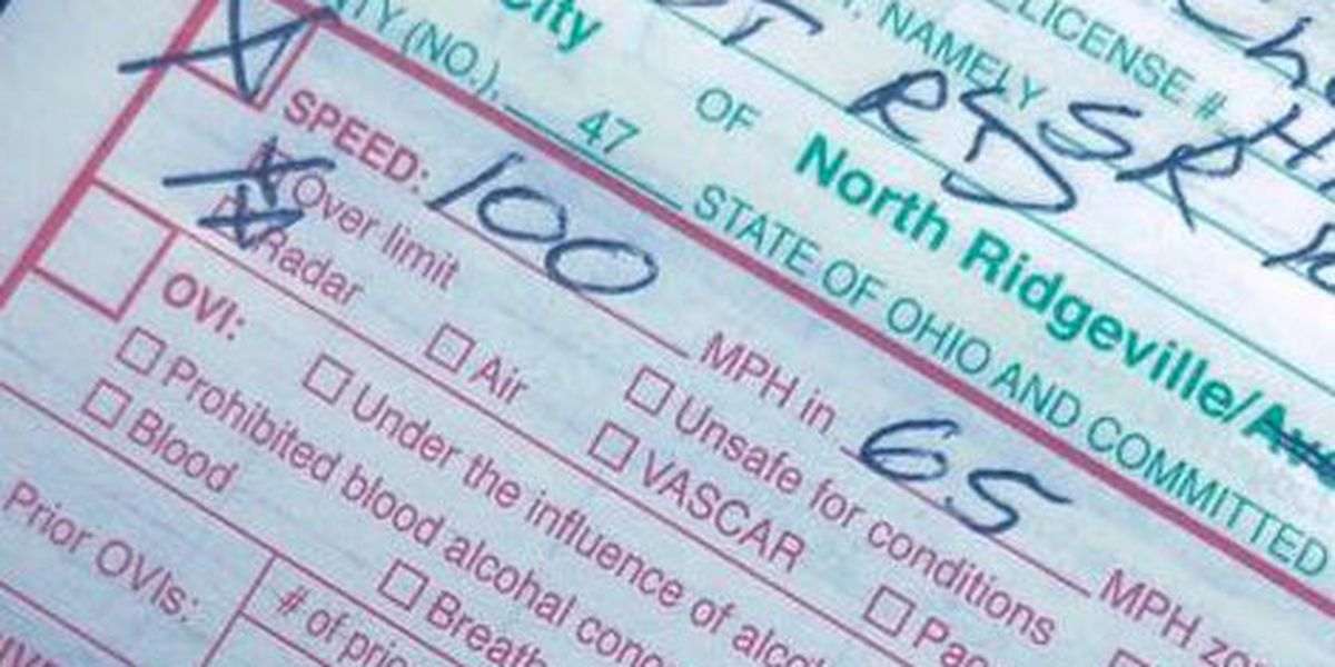 Ohio Police officer writes open letter to 18-year-old caught driving at 100 mph