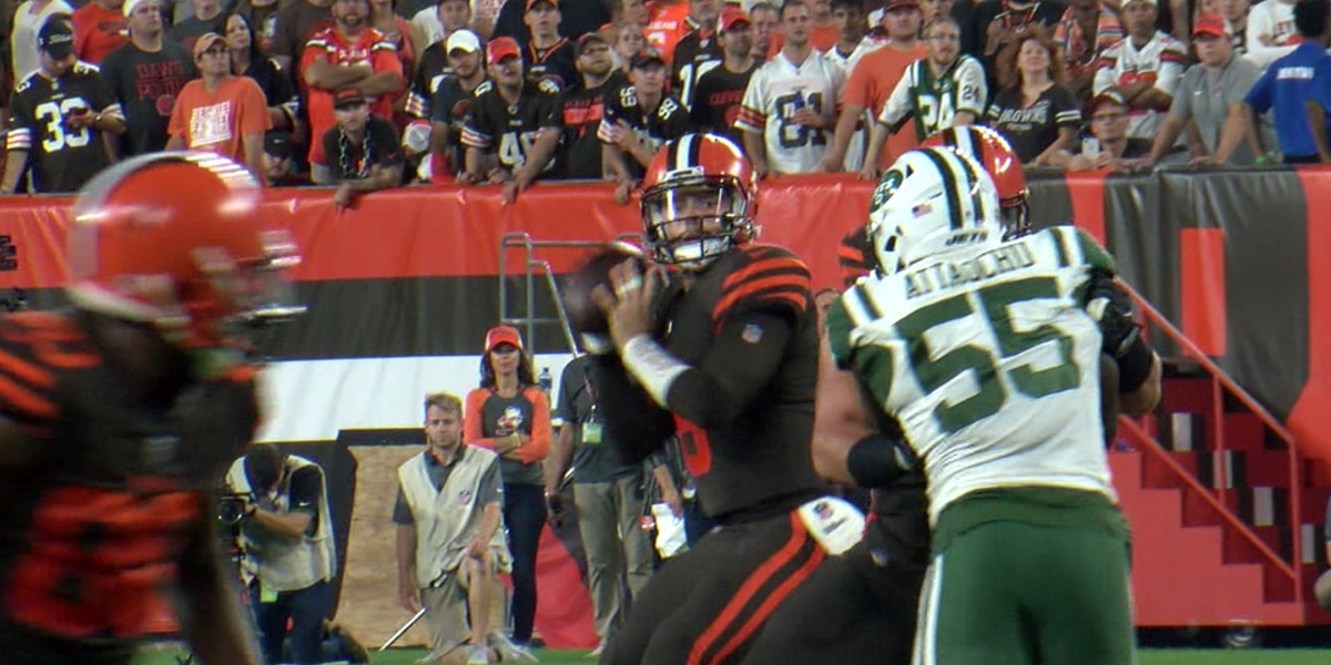 Browns lose OT shoot out in Oakland, 45-42