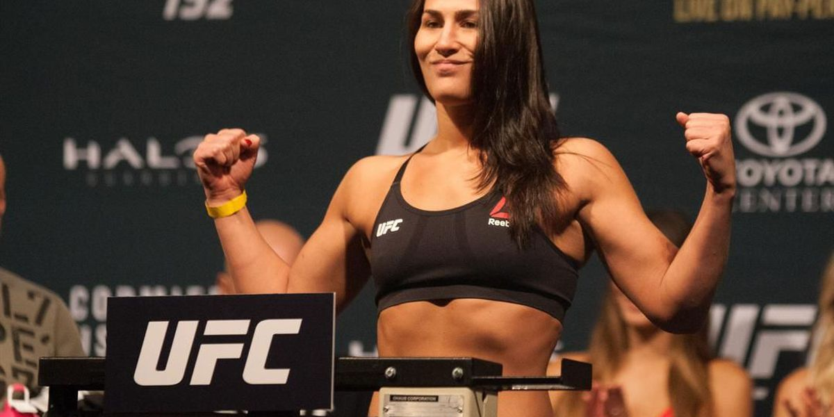 Barberton native Jessica 'Evil' Eye switches weight classes in the UFC