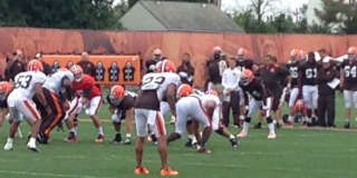 Browns Monday: Training Camp, Day 3