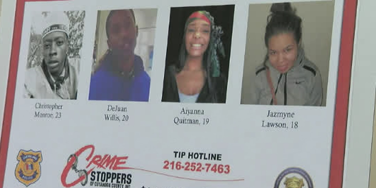 Woman hopes hula hooping for 5 hours will keep attention on Cleveland's unsolved quadruple homicide