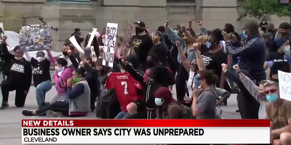 Cleveland businessman rips into city leadership claiming they did not do enough to stop riot