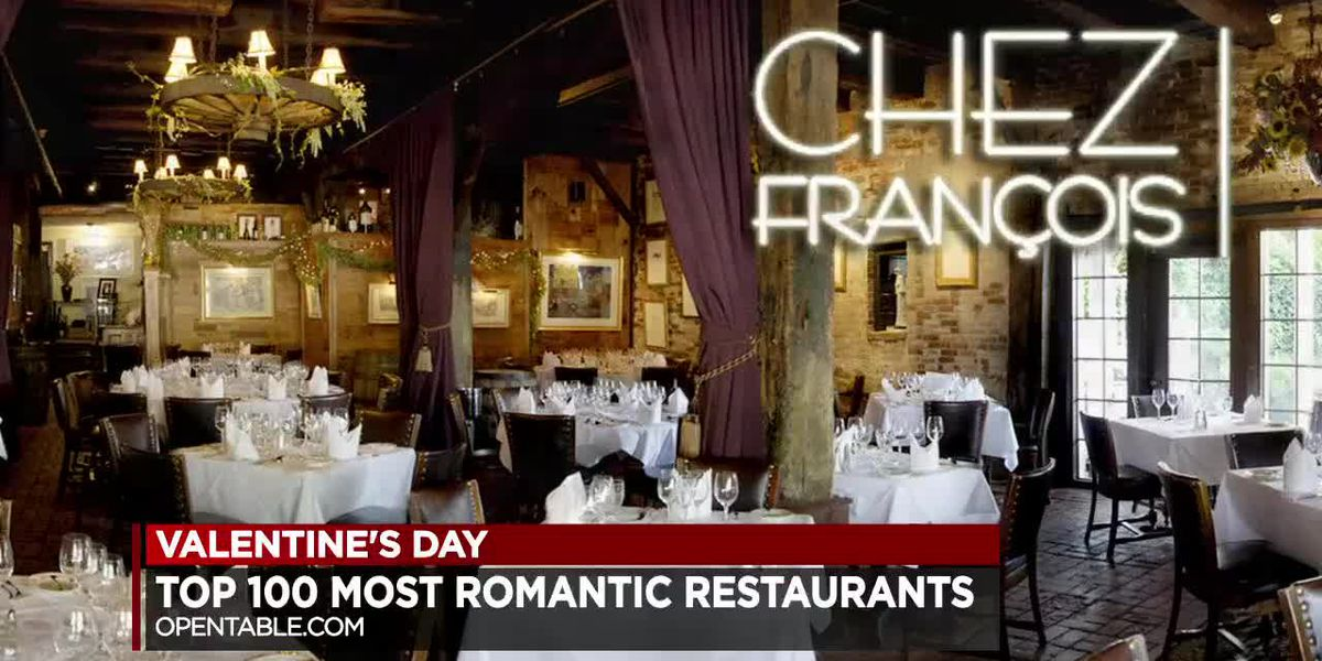 Ohio leads the nation in most romantic restaurants