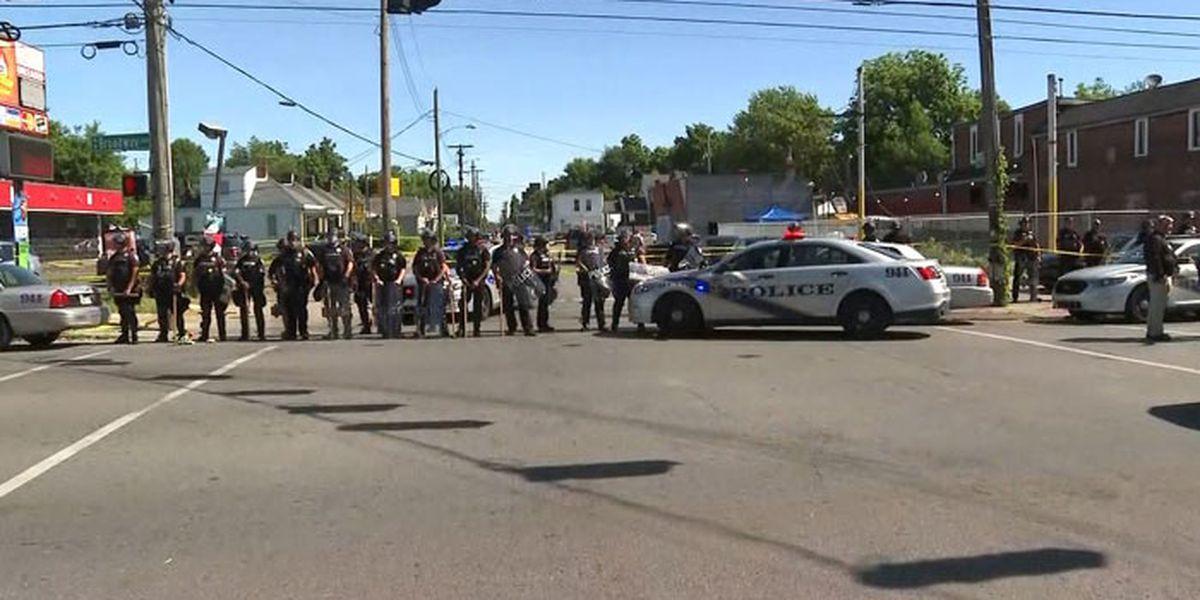 Police: Video shows man killed in Kentucky fired a gun
