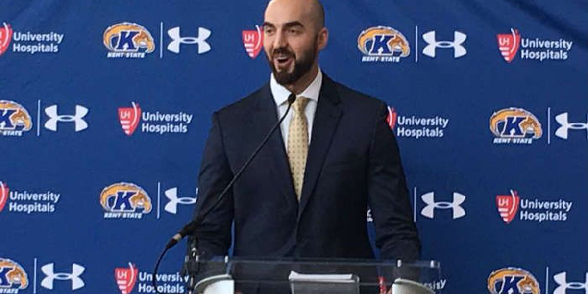 Kent State introduces Sean Lewis as new head football coach