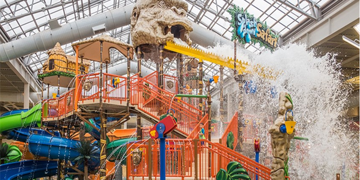 Kalahari Resort requiring guests to wear face masks with the exception of waterparks