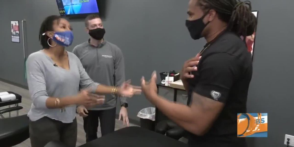 Josh visits the chiropractor to see what years playing in the NFL has done to his body (part 2)