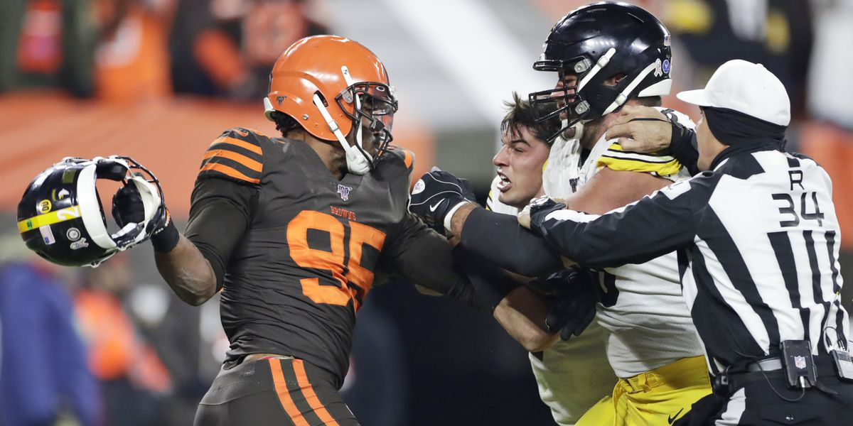 Cleveland police: No criminal charges filed against Myles Garrett for on-field altercation